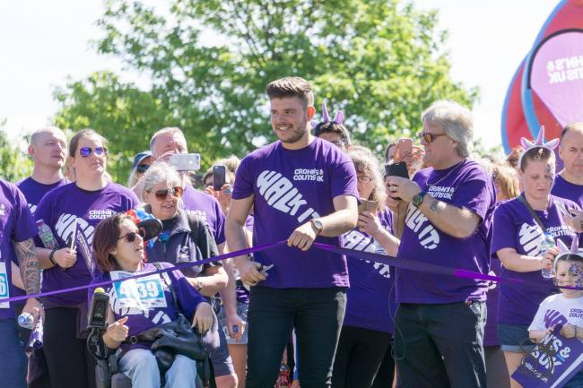 Lloyd Macey will be joining hundreds of supporters when he officially opens Crohn's & Colitis UK's¹ WALK IT event in Swansea on June 1