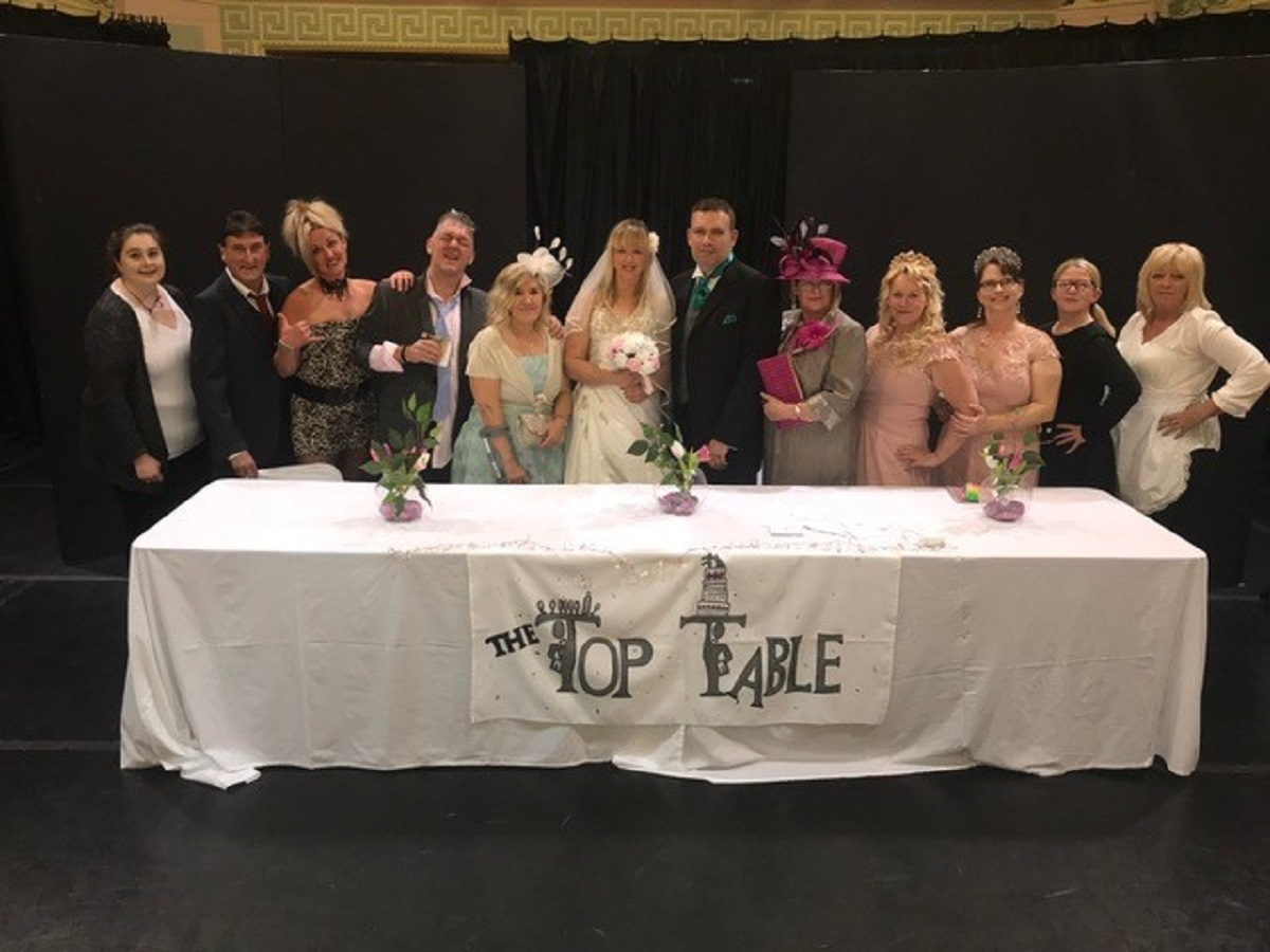 Ammanford Commuity Theatre group get ready for the big day