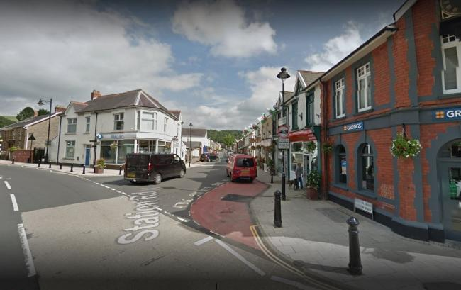 Station Road in Ystradgynlais. Pic: Google images