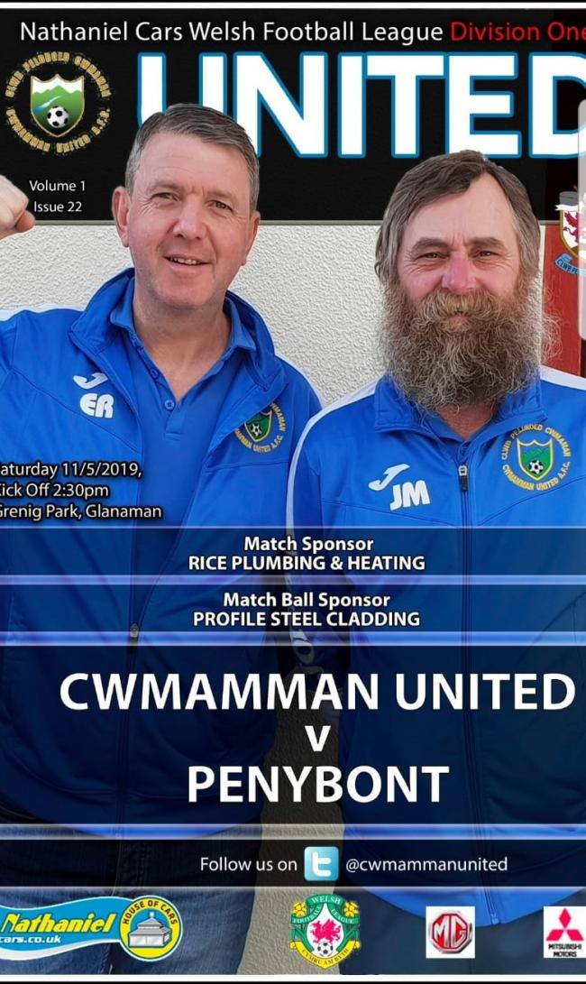 Club's matchday programme named one of the best in Wales