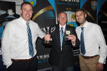 Ammanford RFC hand out season's awards at presentation evening